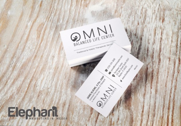 OMNI Naples business cards